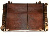 Радиатор 3302 медный 2-х рядный н/обр (штыри)