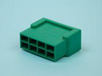 Колодка штырьевая зелёная 6,3*8шт