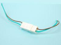 Колодка с проводами на 2 контакта S=0,5мм КЛ065-1У