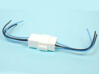 Колодка с проводами на 4 контакта S=0,5мм КЛ066-1У