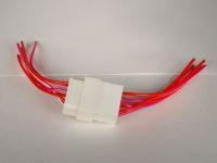 Колодка на 6 контактов с проводами S=0,75мм КЛ067-1У