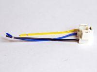 Колодка фарная с проводами (автолампа Н4, 3 провода)