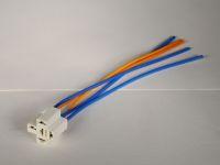 Колодка реле с 5 проводами S=1,5мм и S=0,75мм КЛ176-1