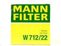 Фильтр масляный  W71222  (MANN)