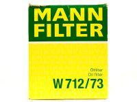 Фильтр масляный  W71273  (MANN)
