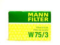 Фильтр масляный  W753       (MANN)
