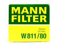 Фильтр масляный  W81180  (MANN)