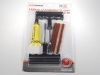 Ремкомплект легковых бескамерных шин Autostandart (3шт жгутов, шило 2шт, клей)